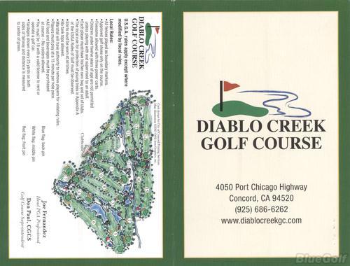Diablo Creek Golf Course - Course Profile