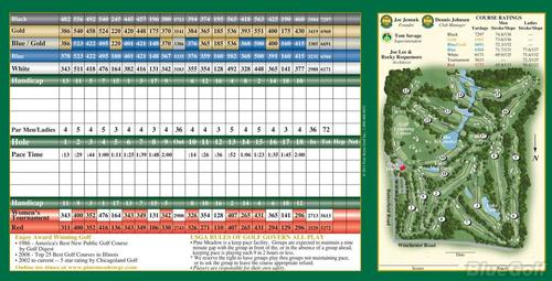 Pine Meadow Golf Club Course Profile Course Database