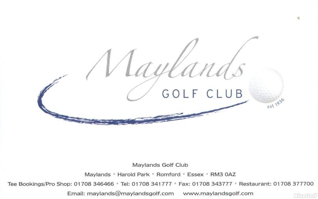 maylands golf country club course profile course. Black Bedroom Furniture Sets. Home Design Ideas