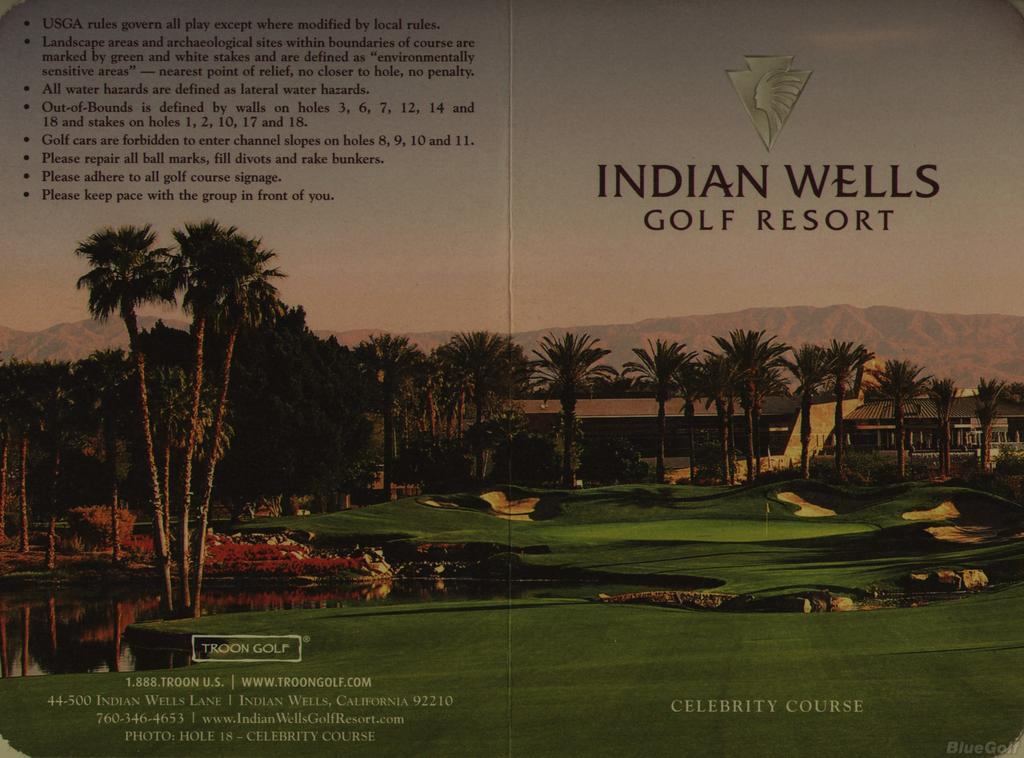 Indian Wells Golf Resort (Celebrity Course Course)