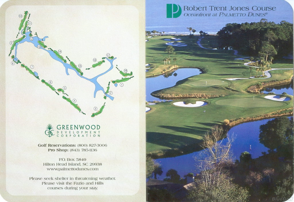 Palmetto Dunes Robert Trent Jones Course Course