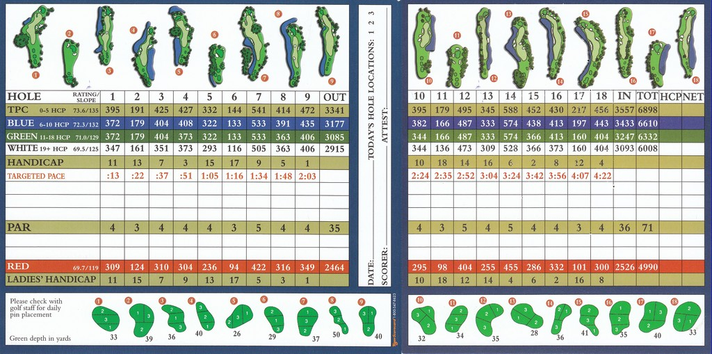 grand cypress golf course new scorecard in addition costa rica paca