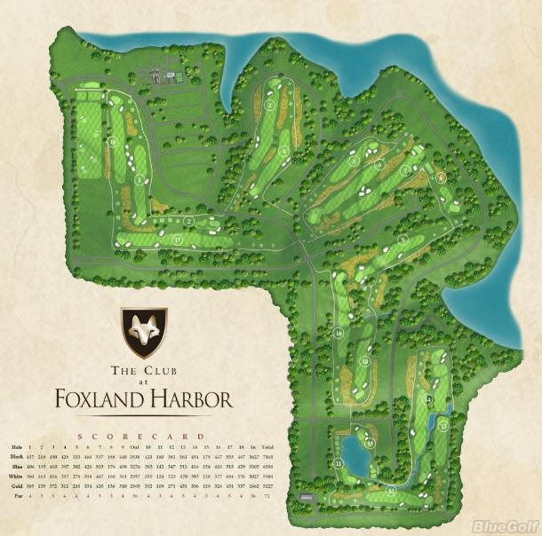 Golf 8 2018 >> Foxland Links Course - Layout Map | Tennessee PGA