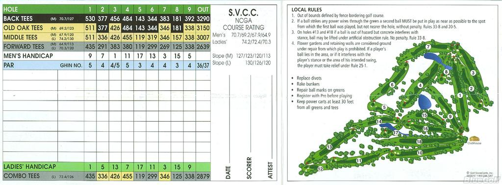 Sierra View Country Club Course Profile Course Database