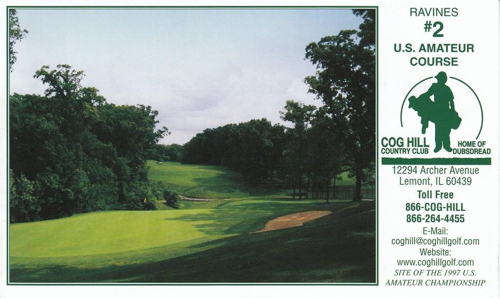 Cog Hill Golf   Country Club- Course 2- Ravines - Course Profile ... 000e614cf