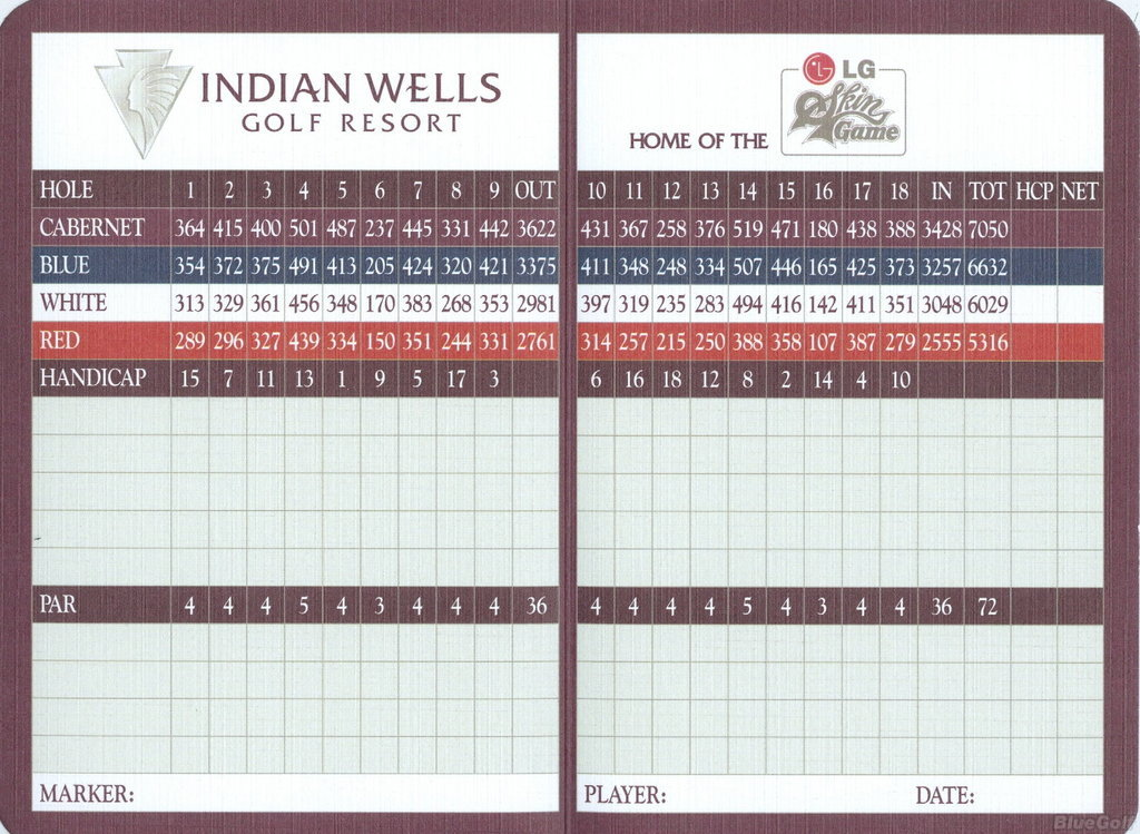 Indian Wells Golf Resort - Celebrity Course in Indian ...