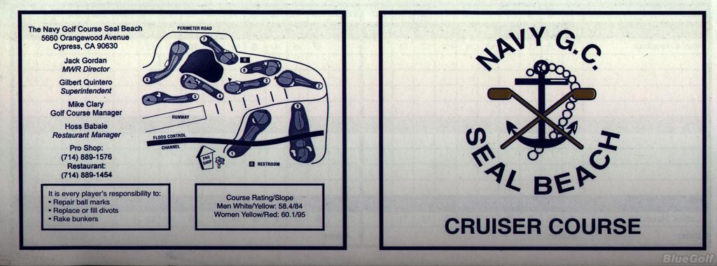 Navy Golf Course Cruiser Course Profile Course Database