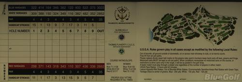 Woods Hole Golf Club - Course Profile   Course Database