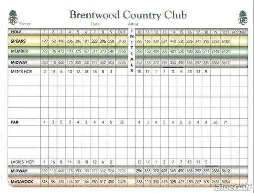 29+ Brentwood country club golf reservations information