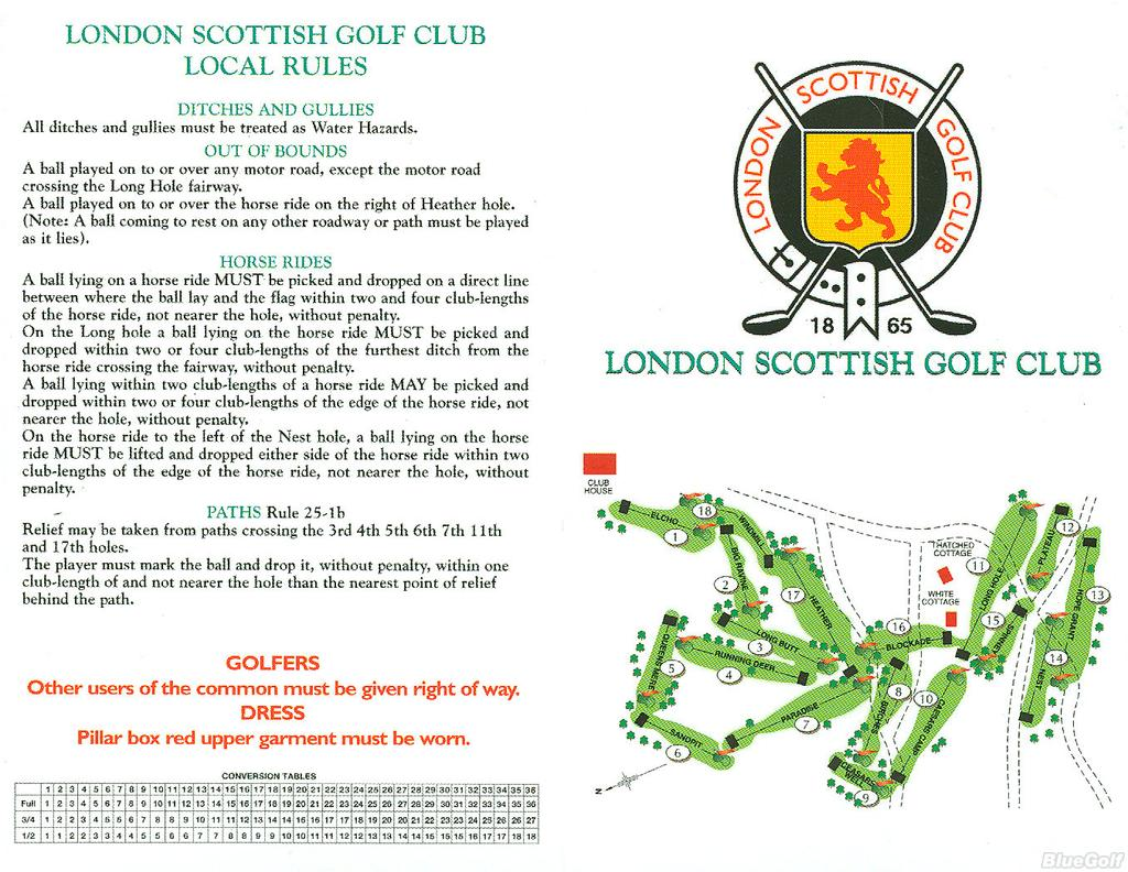 London Scottish Golf Club - Course Profile | Course Database on scottish national parks map, scotland map, scottish airports map,