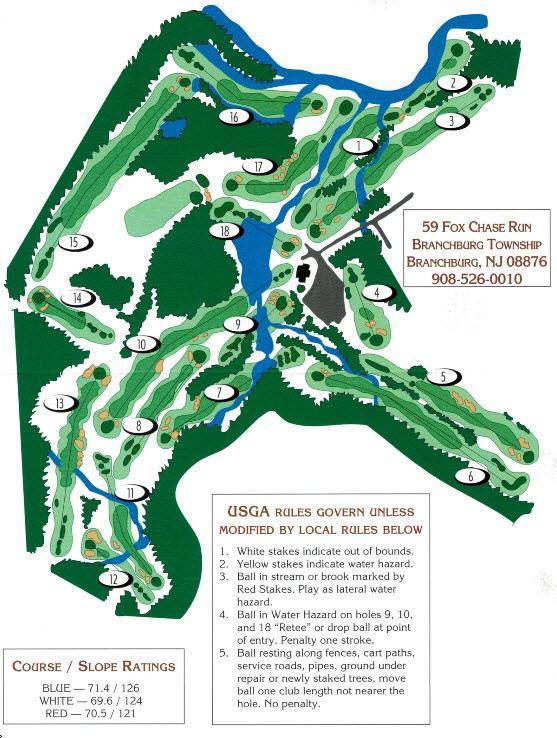 Fox Hollow Golf Course, Timonium, Maryland - Golf course ...