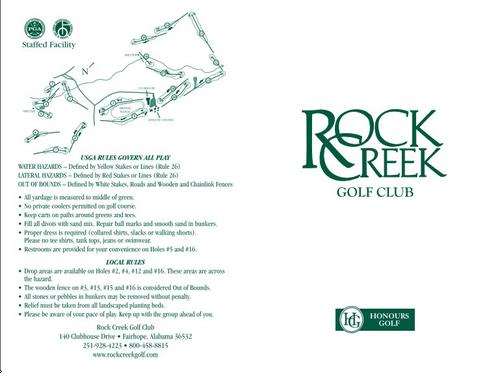 rock creek golf club final revised The attached preliminary scope of services and pre-final construction plan sheets tr 199 / price road over big rock creek big rock revised--revised revised.