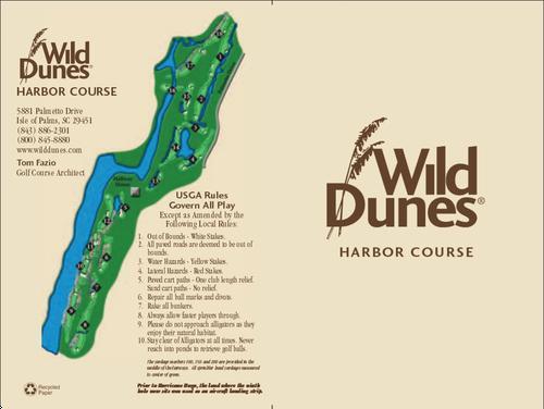 Wild Dunes Golf Club - Harbor Course - Course Profile | Course Database