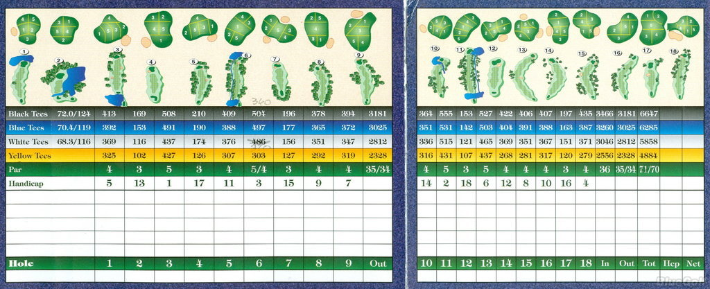 River Oaks Golf Club Edmond Oklahoma Golf Course