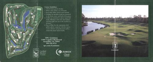 TPC Louisiana - Course Profile | Course Database