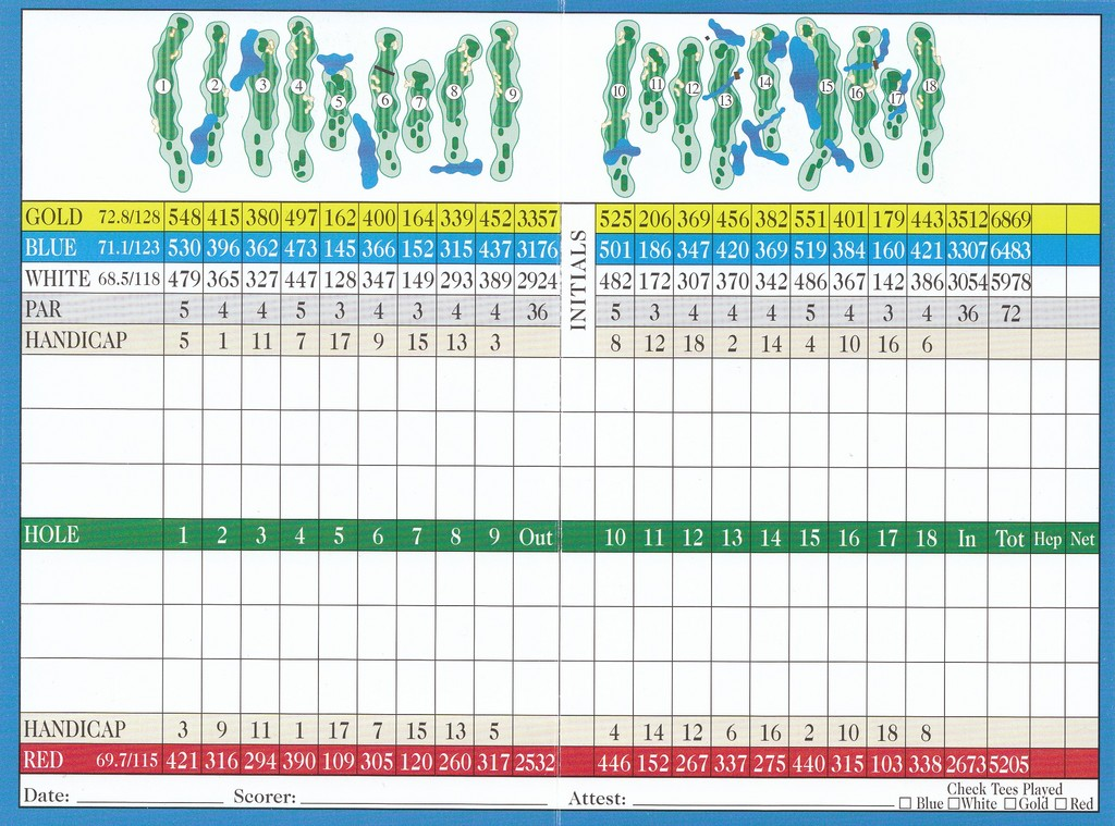 84a708d7 Lake Blackshear Resort and Golf Club - Course Profile | Course Database
