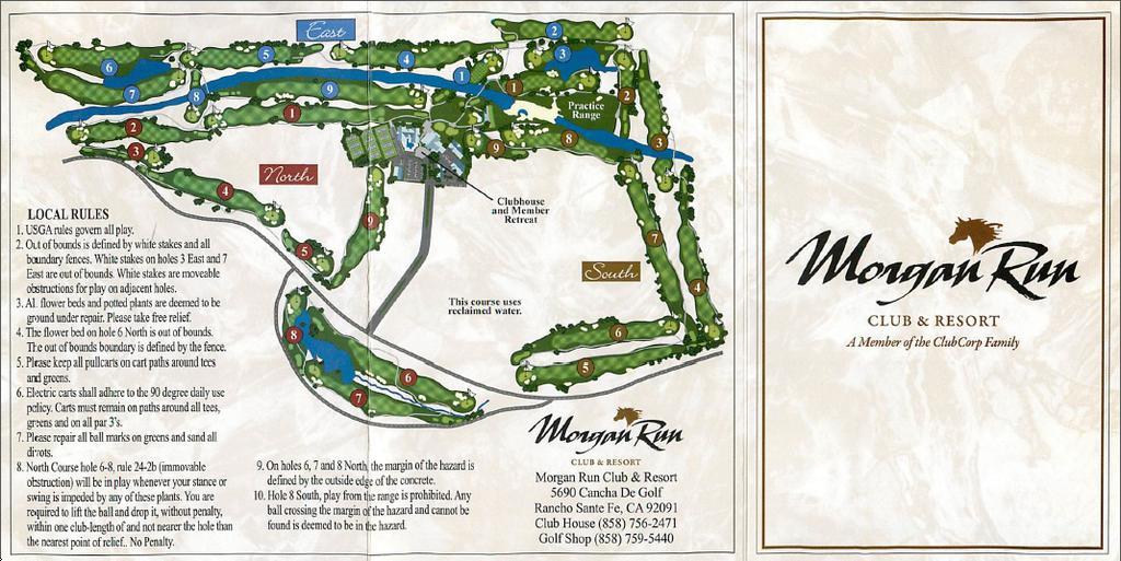 morgan run resort and club south north course profile. Black Bedroom Furniture Sets. Home Design Ideas