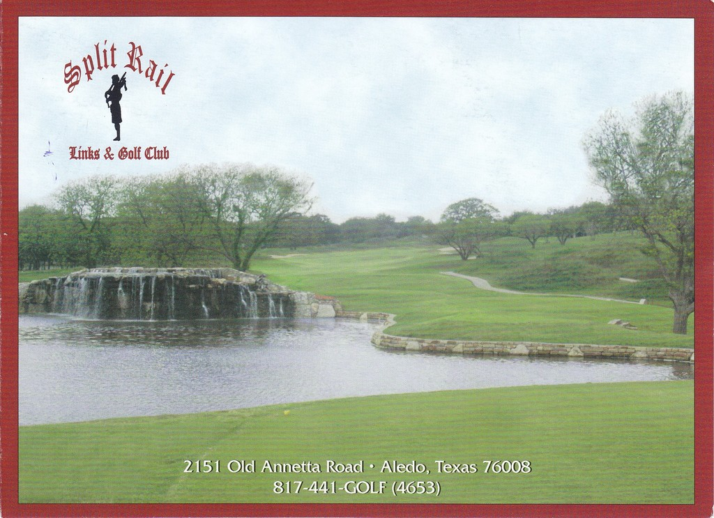Split Rail Links & GC - Actual Scorecard | Course Database Golfers