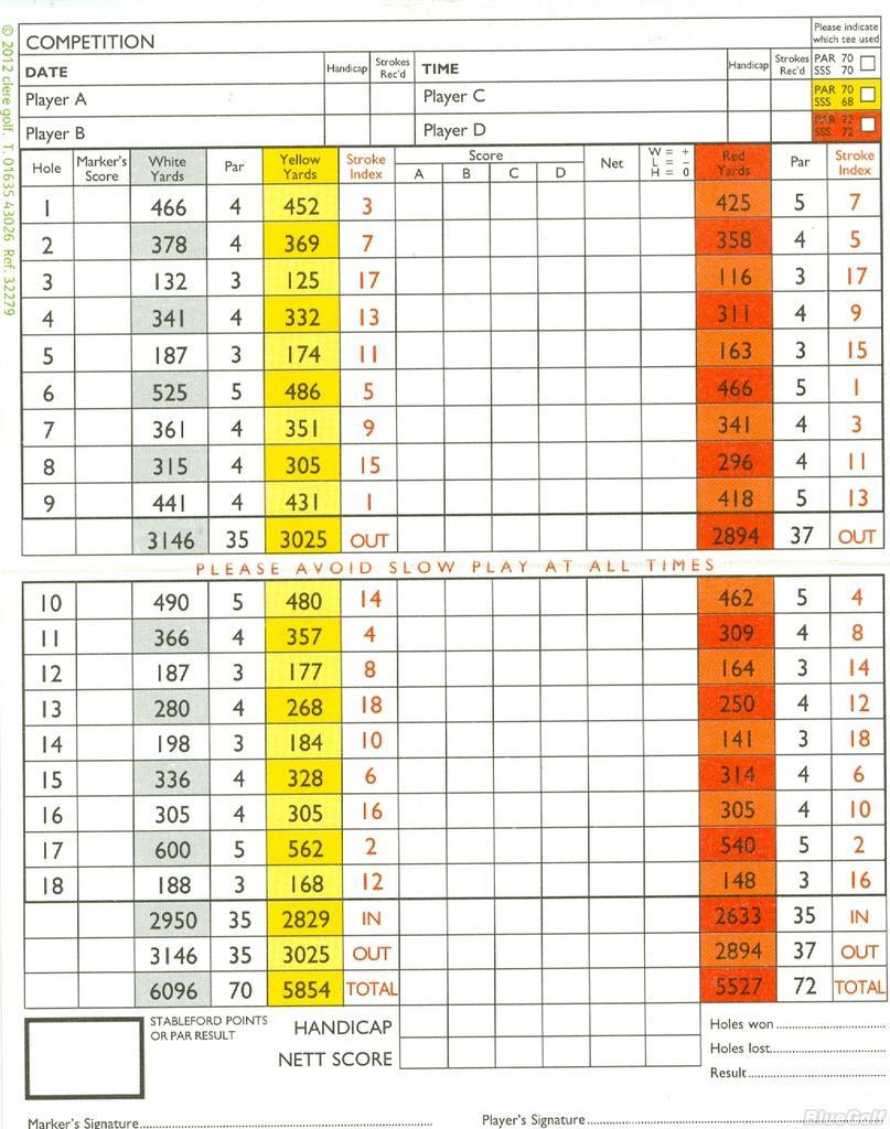 Welwyn Garden City Golf Club Home Facebook