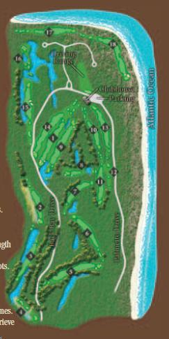 Wild Dunes Golf Club - Links Course - Layout Map | Course Database