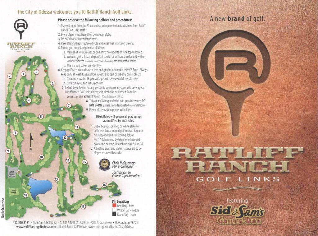 Ratliff Ranch Golf Links - Course Profile   Course Database